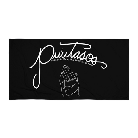 PU'UTASOS Beach Towel [Black]