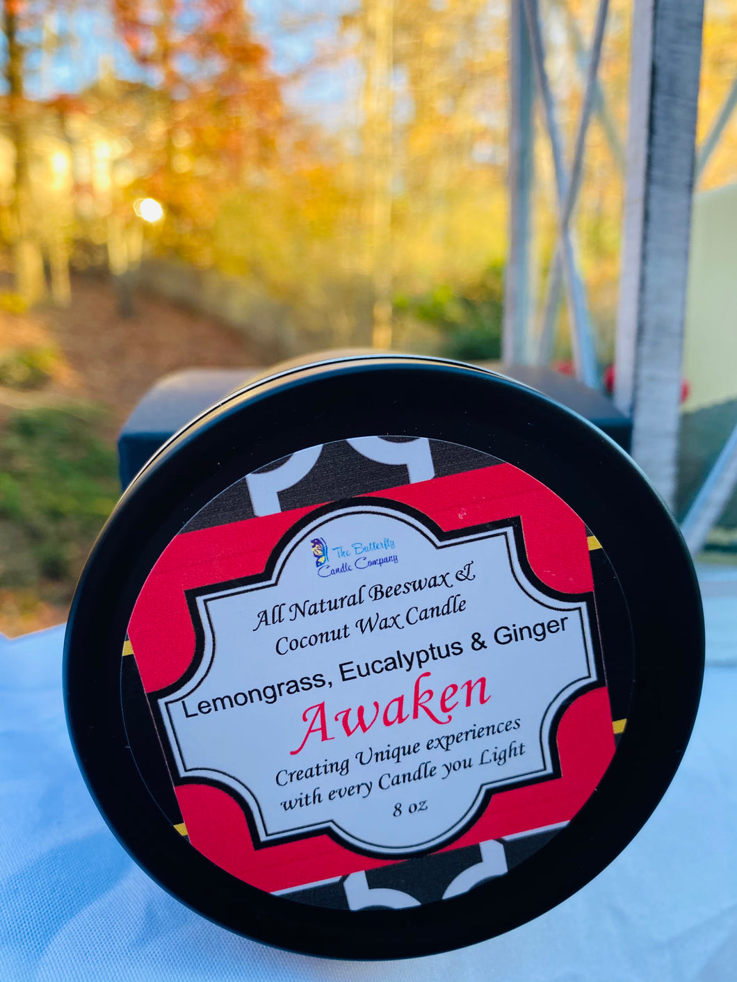 Holiday Travel Tins...Awaken-Lemongrass, Eucalyptus & Lavender