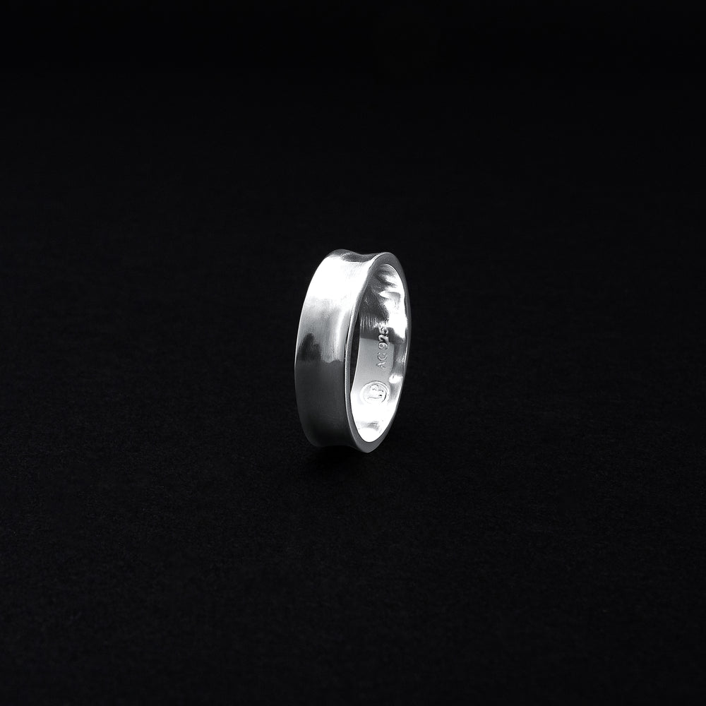 Skinny Dip Ring - Sterling Silver