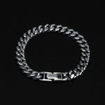 Cuban Chain Bracelet - Sterling Silver 9 mm