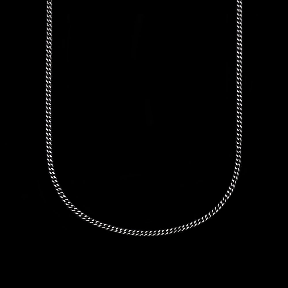 Thin Cuban Chain Necklace