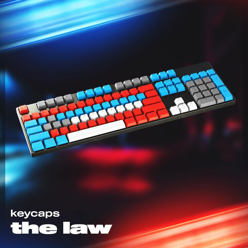 The Law Keycaps - AltCustomsKeyboards