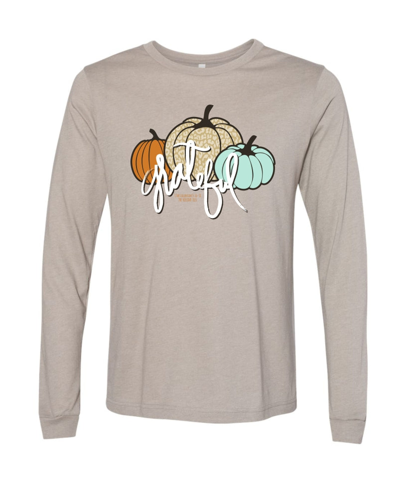 Grateful Fall Tee - Long Sleeve