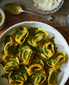 Pumpkin and Ricotta Tortelloni with (optional) Seasonal Sauces