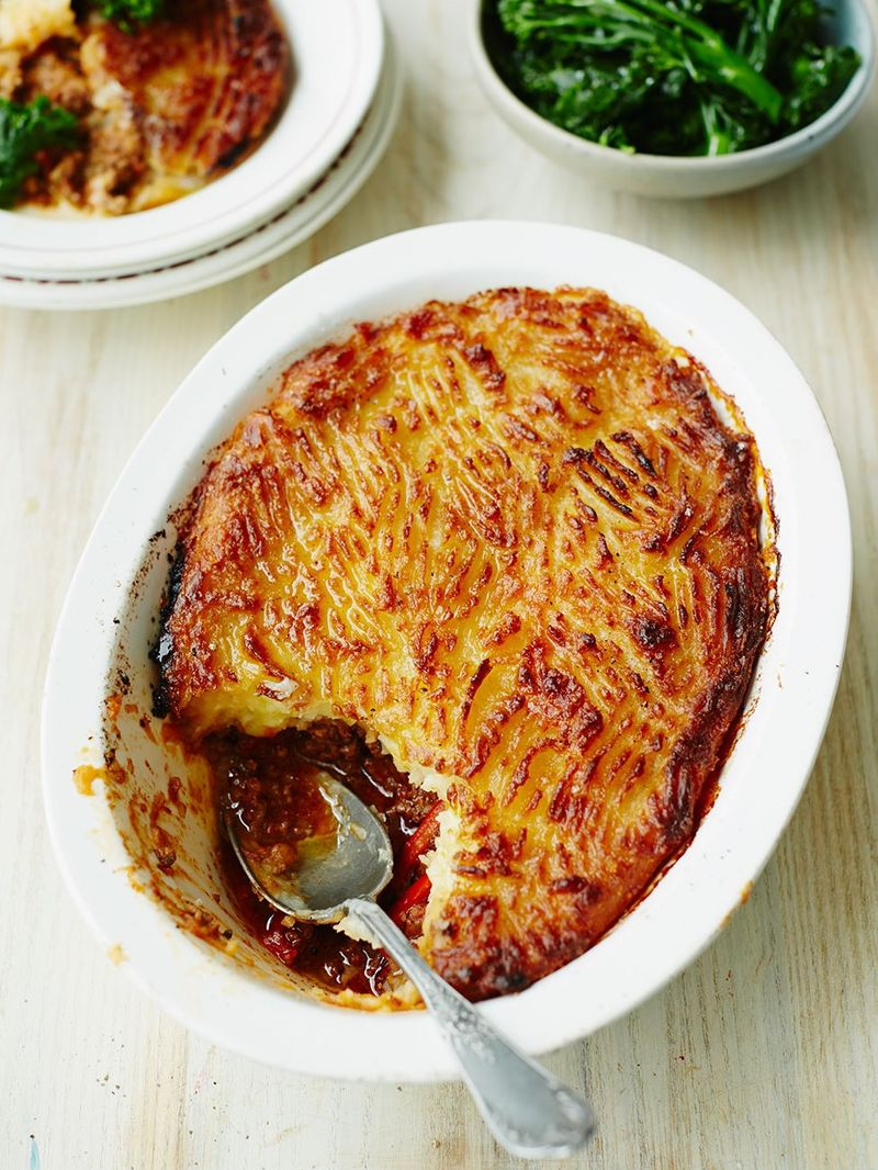 NEW Classic Cottage Pie with Cheesy Mash Top