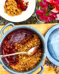 Apple, Blackberry & Cinnamon Crumble (Frozen)