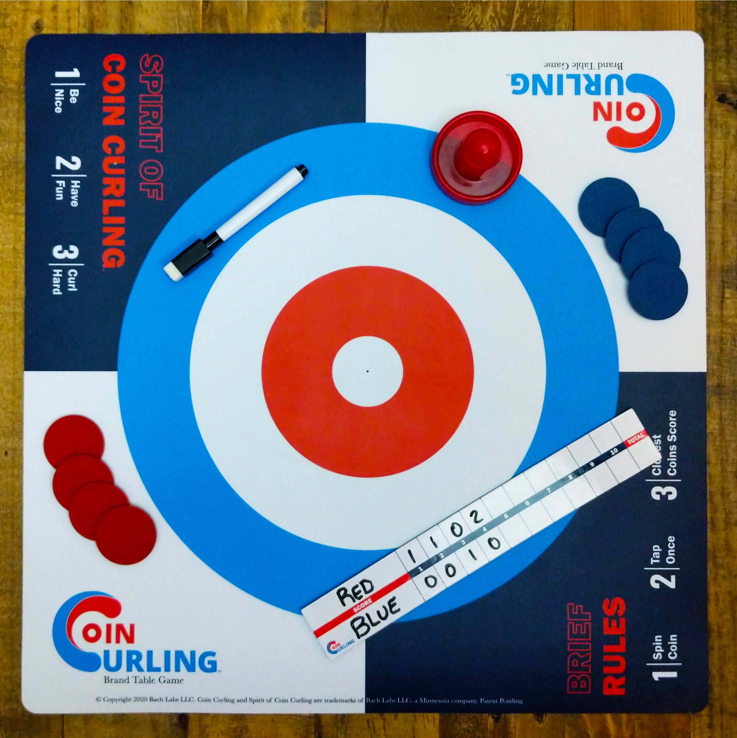 Coin Curling