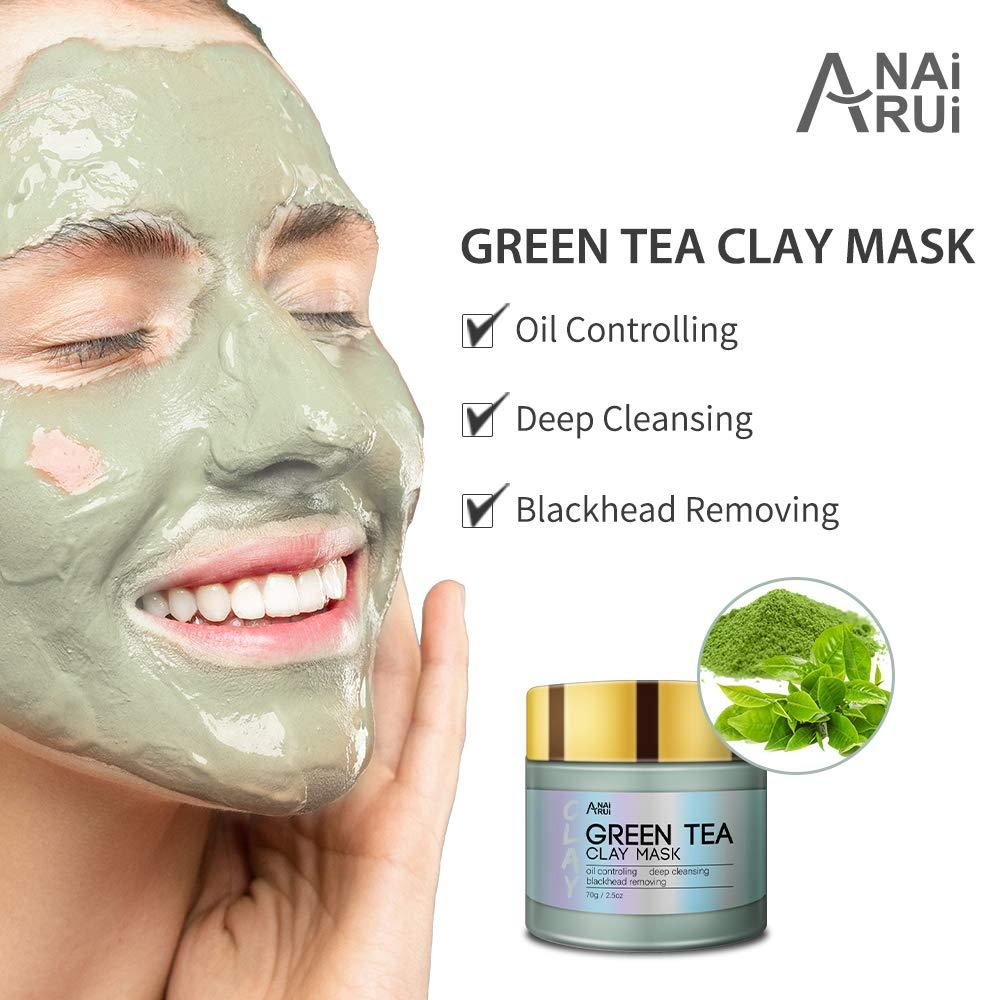 Green Tea Clay Mask for Face