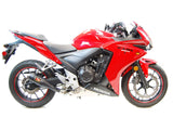 Honda CBR500R CB500F CB500X Slip-On Exhaust | 2013-2015