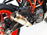 KTM RC390 Slip-On Exhaust | Low Mount | 2017+