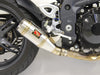 Triumph Speed Triple Slip-On Exhaust | Rear O2 | 2005-2007