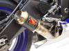 Yamaha R6 Slip-On Exhaust | 2017+ | Race