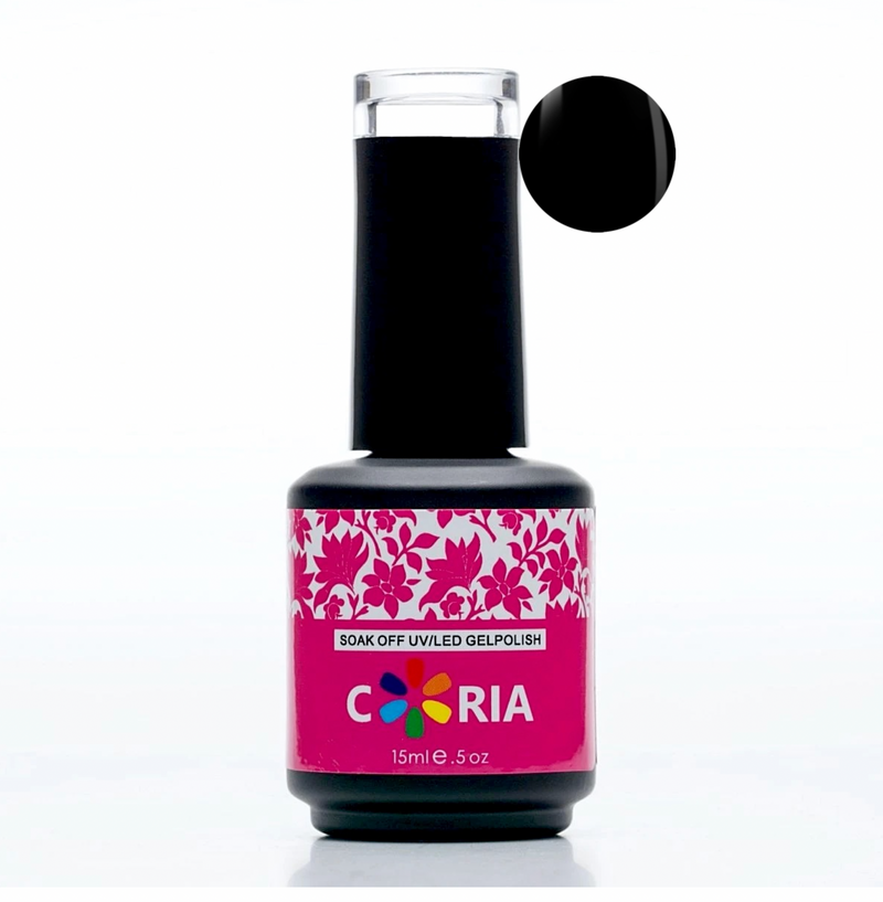 Oja Semipermanenta Carbon Black (negru) 15ml