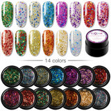 Gel Uv/Led Coria Glitter Sequins 5g 02