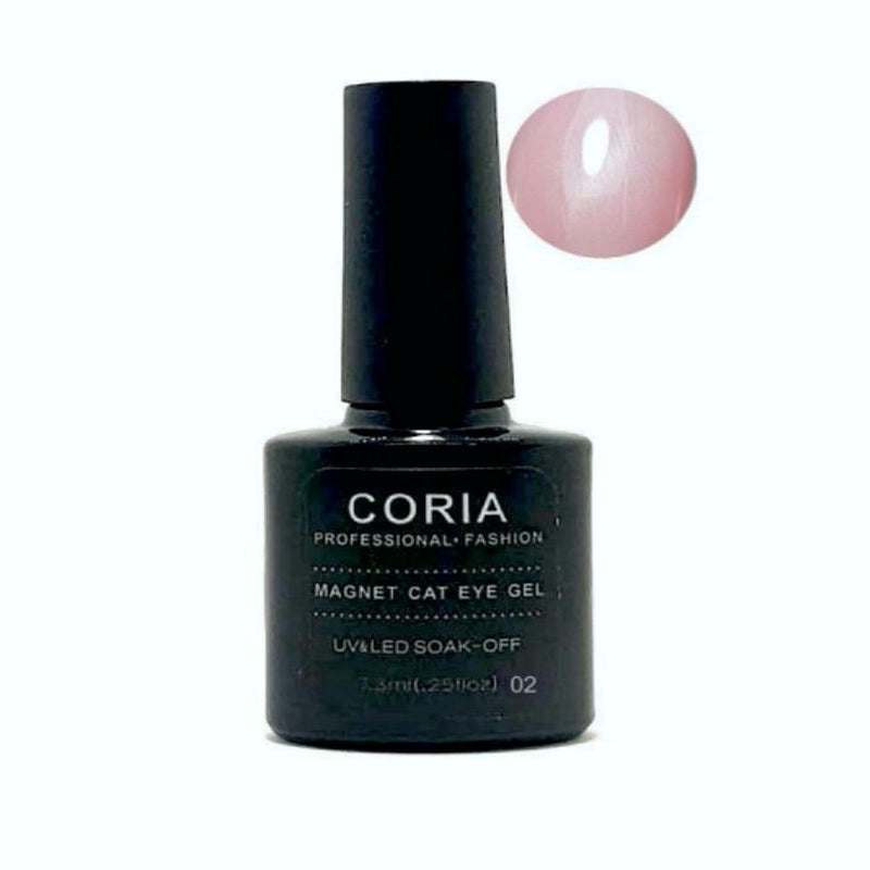 Oja Semi Coria Cat Eye Pink Quartz 7,3ml 02