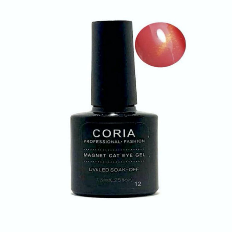 Oja Semi Coria Cat Eye Pink Quartz 7,3ml 12
