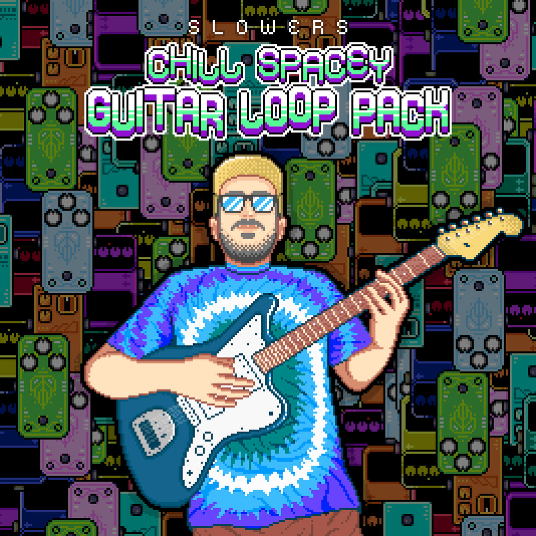 CHILL SPACEY GUITAR LOOP PACK