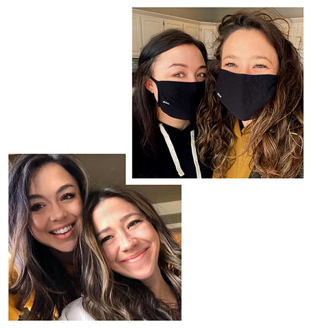 30X Mask - About Us - 2 Sisters, 1 Goal - CoFounders