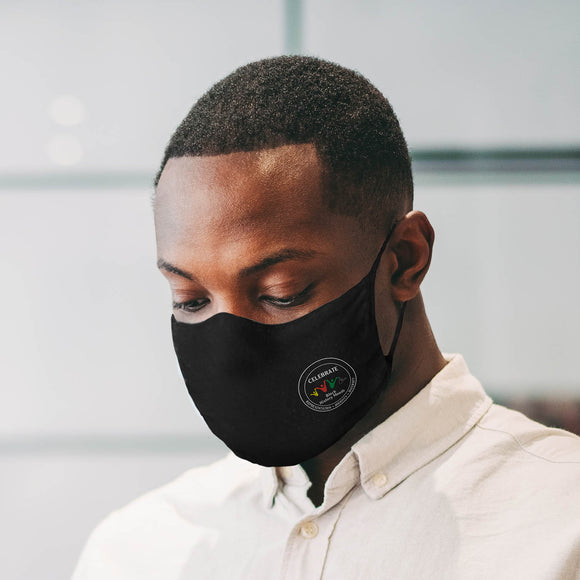 30X Mask, Limited Edition Black History Month, black ear loop mask