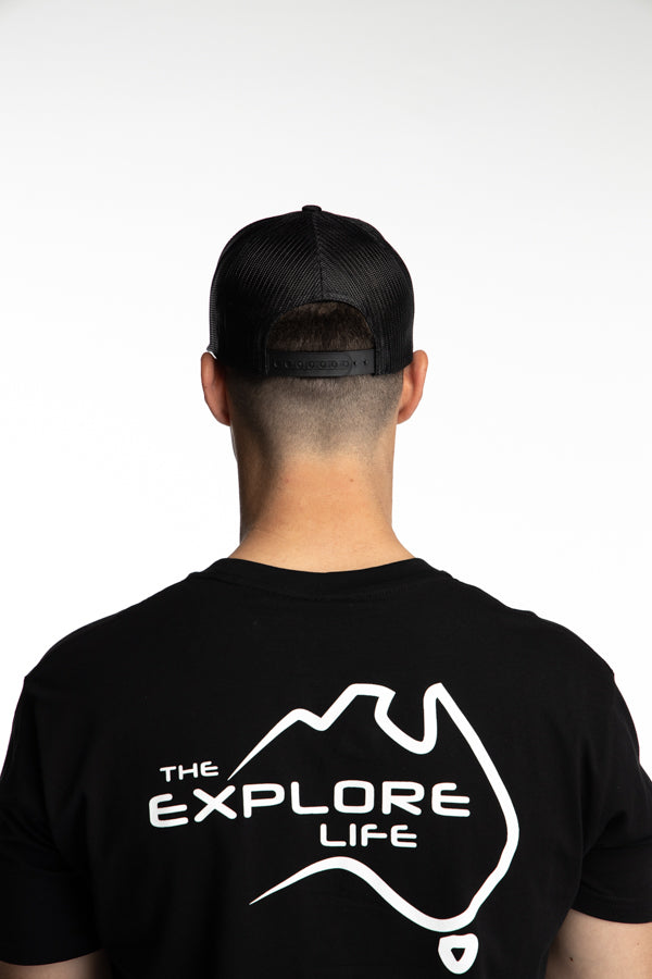 Explore Curved Trucker Hat