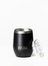 EXPLORE LIFE WINE TUMBLER - BLACK