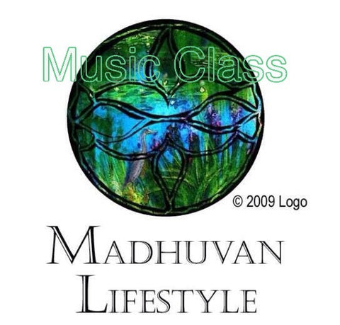 MADHUVAN MUSIC CLASSES - 4 half hour lessons for Adult/or Child with Adult Support