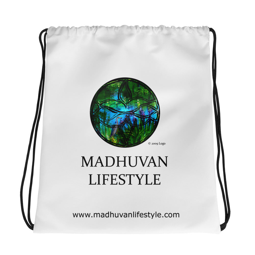 MADHUVAN LIFESTYLE - Drawstring bag