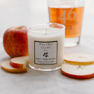 Apples + Maple Bourbon - Soy Candle