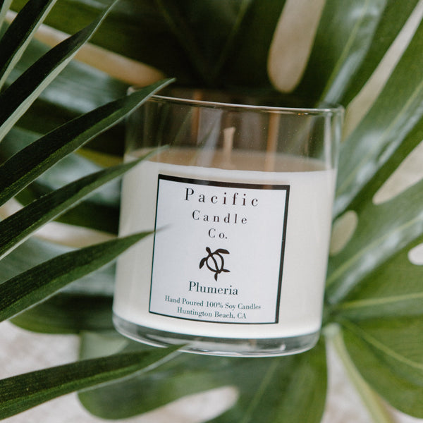 Plumeria - Soy Candle
