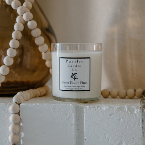 Sweet Tuscan Plum - Soy Candle