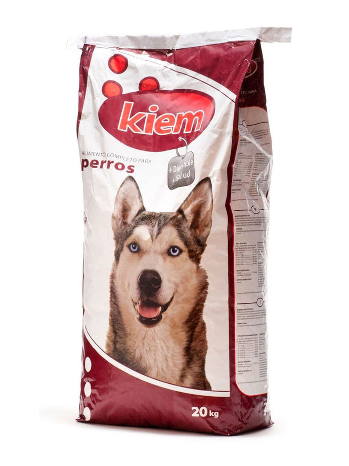 Feed for dogs Kiem bag 20kg - Animal Camp - Gasto de envió gratis