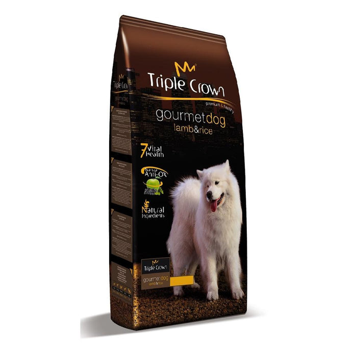 TRIPLE CROWN GOURMET DOG  3kg - Animal Camp - Gasto de envió gratis
