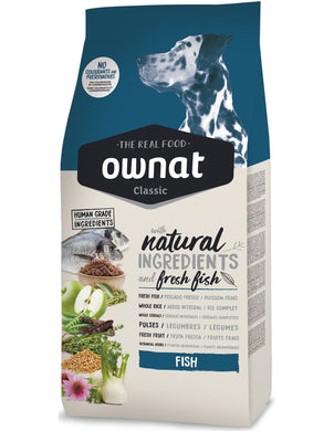 Dog feed ownat classic FISH - Animal Camp - Gasto de envió gratis