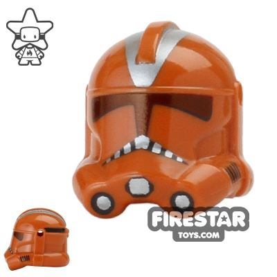 Dark Orange Trooper P2 Helmet