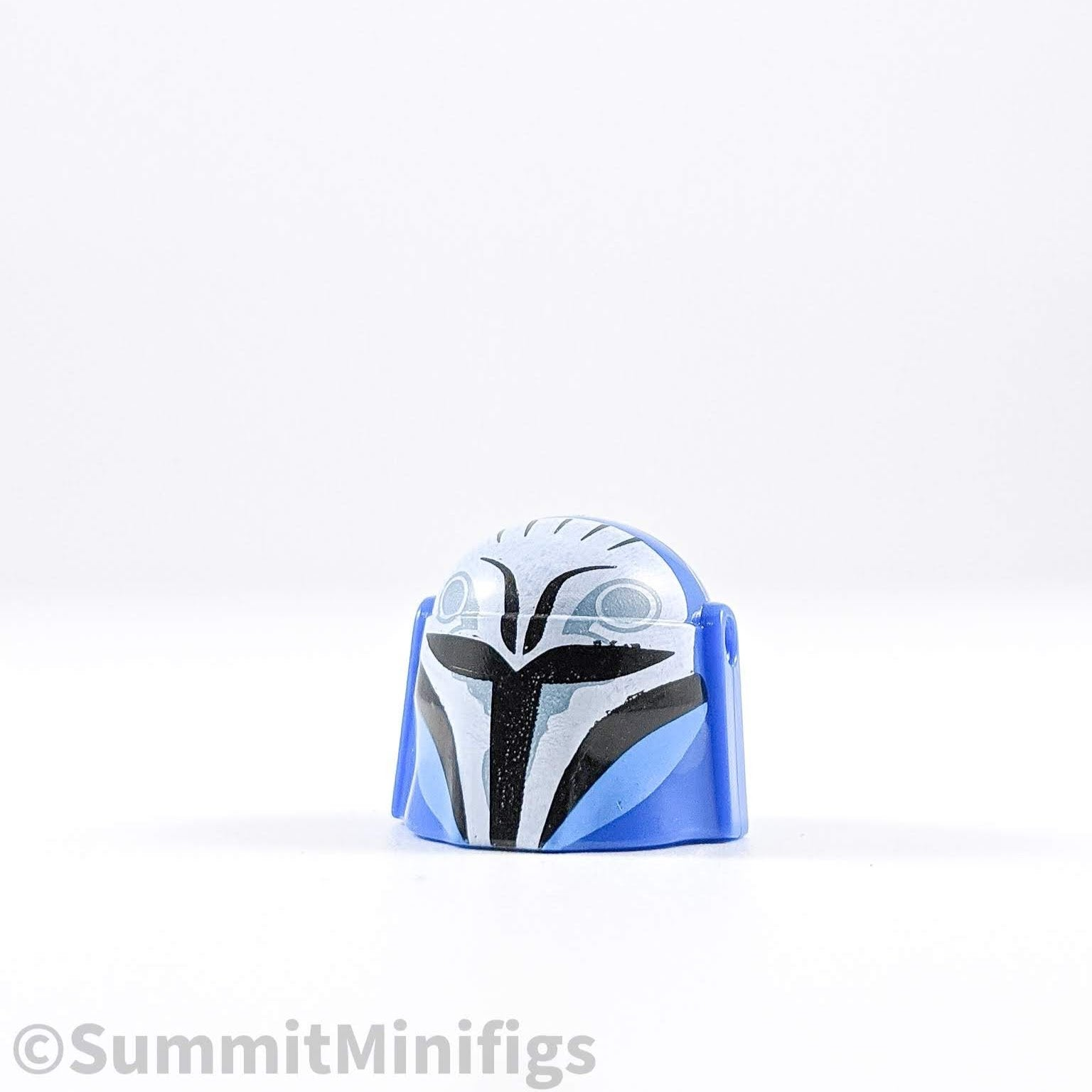 Blue Bo Katan V2 Hunter Helmet