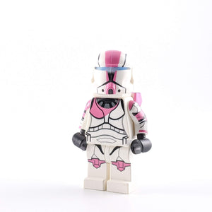 SW Custom: Minifigure Commando Pink