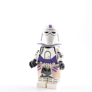 SW Custom Minifigure: Galactic Purple Marine