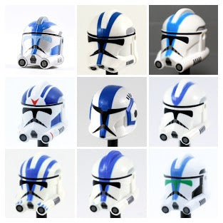 501st Clone Trooper Helmets: Grunts Select Variant