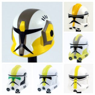 327th  Clone Trooper Helmets: Select Variant