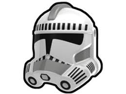 White Kamino Security P2 Trooper Helmet