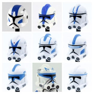 501st Clone Trooper Helmets: Named Characters Select Variant