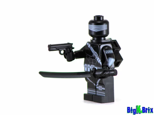 Lego GI Joe: Custom Snake Eyes