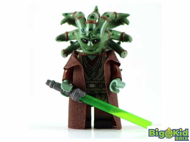 LEGO SW Custom Minfigure: Deluxe Limited Edition Kit Fisto