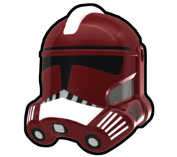 Dark Red Fox P2 Trooper Helmet