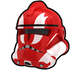 Red Commander Ganch P2 Helmet