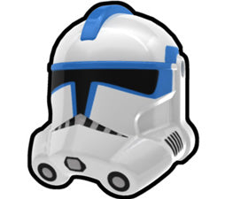 White Kix P2 Trooper Helmet