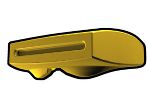 Yellow Phase 2 Binocular Visor