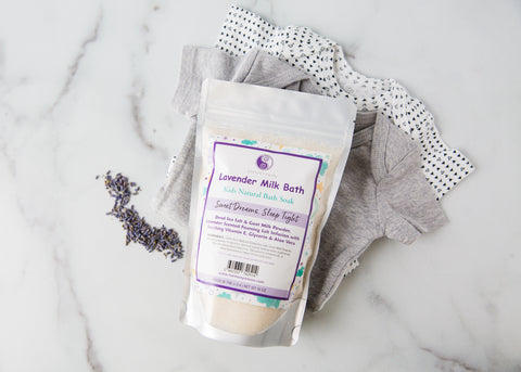 Lavender Milk Bath - Sleepy & Soothing Tub Time Foaming Bath Salt