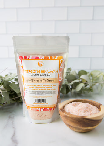 Energize & Detox - Triple Salt Bath Soak!