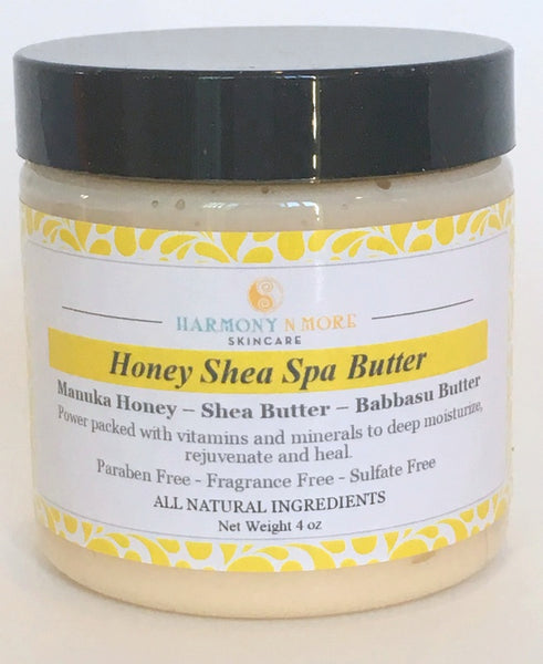 Honey Shea Spa Butter - Natural Moisturizing Cream